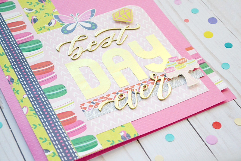DIY Jumbo File Folder Card