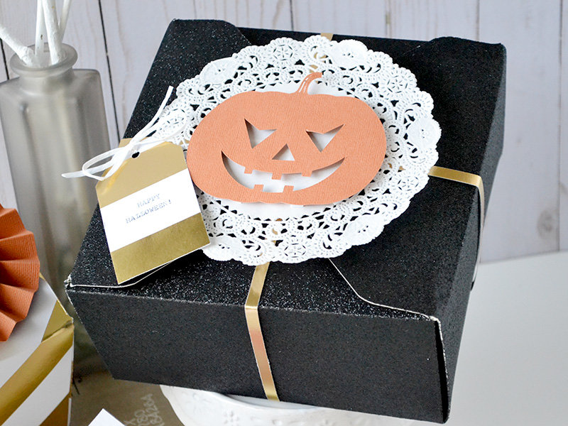 *We R* Halloween Treat Boxes