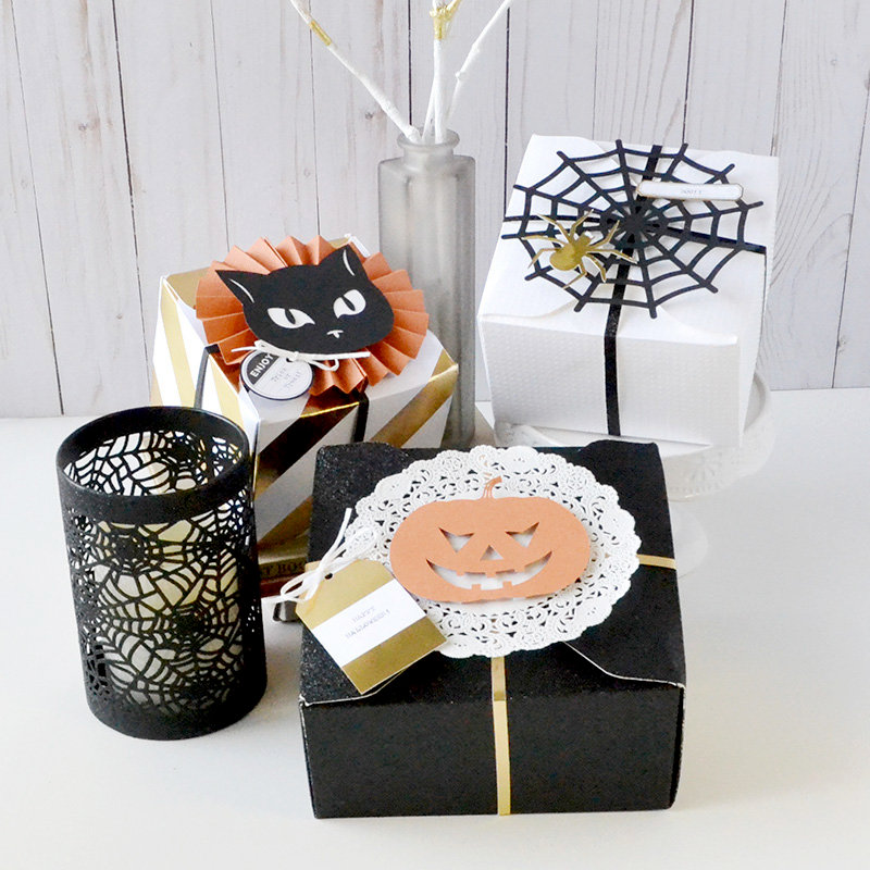 *We R* Halloween Treat Boxes