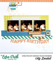 *Echo Park* Happy Birthday