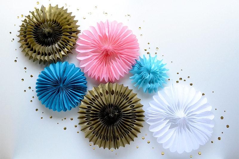 DIY Honeycomb Party Decor