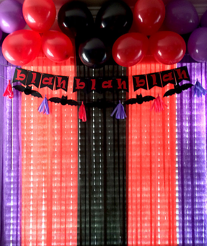 *We R* DIY Party Hotel Transylvania 2 Decor