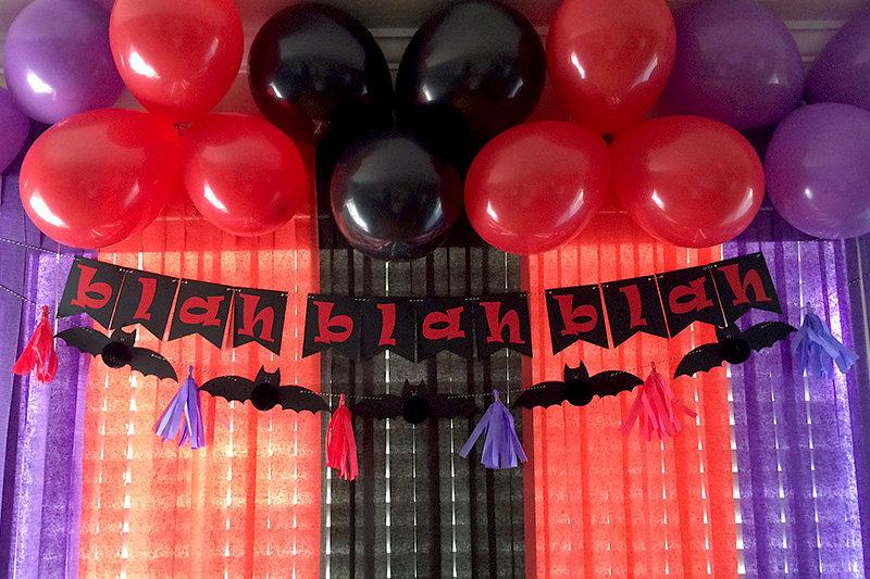 *We R* DIY Party Hotel Transylvania 2 Decor