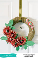 *Echo Park* Joy Wreath