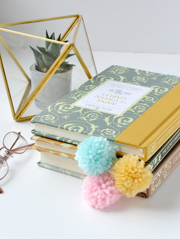 *We R* DIY Pom Pom Book Marks