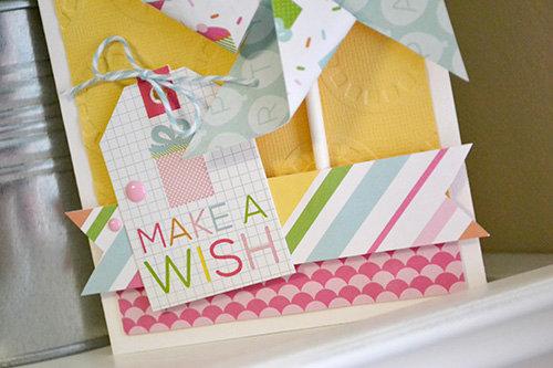 *Echo Park* Make A Wish Card