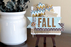 *We R* Mini Fall Canvas