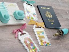 *We R* Monogram Luggage Tags