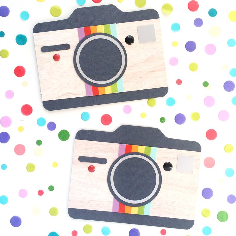 Punch Board Camera Cards