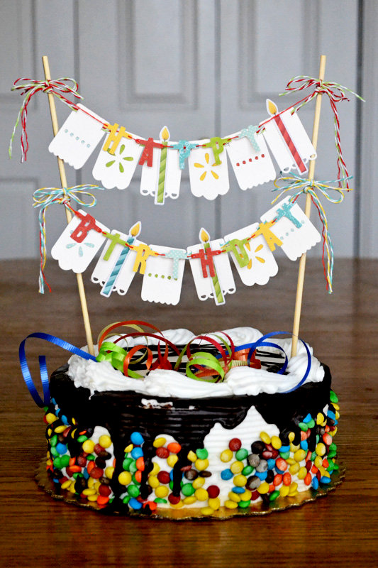 *We R* birthday cake topper