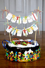 *We R* birthday cake topper