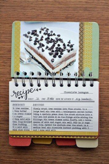 *We R* cinch kit: recipe book