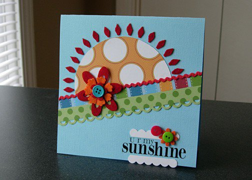 U R My Sunshine [as seen in Mar/April 2010 Papercrafts]