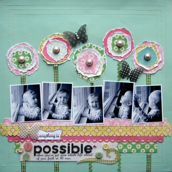 anything is possible *from CK fabulous flowers*