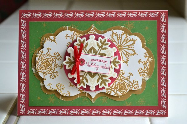 warmest holiday wishes card *anna griffin*
