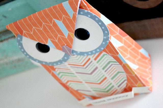 *We R* Owl Gift Bag for Teacher