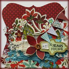 63 Years Young **Your Scrapbook Stash**