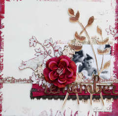 she may not {REMEMBER} but mama will **COUTURE CARDSTOCK AND PRIMA**