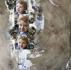 With Sparkling Eyes and Curly Hair **Clear Scraps**