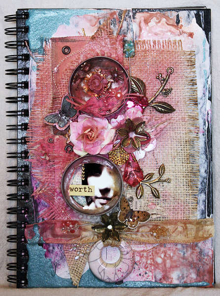 Worth, and altered art journal **Prima**