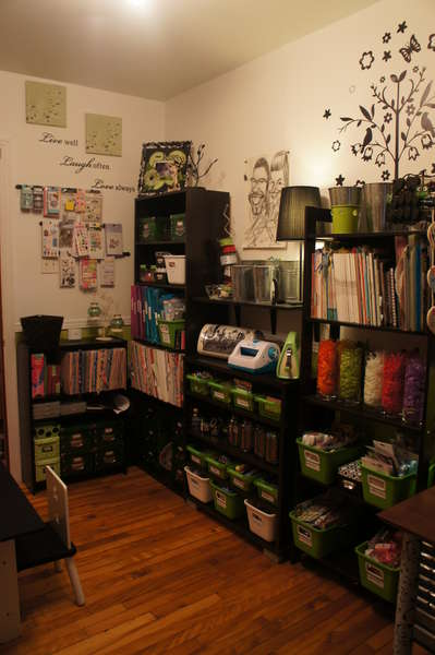 my scrapbook room for the other side of the room