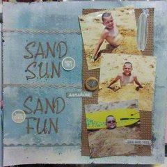 Sand Sun Sand Fun