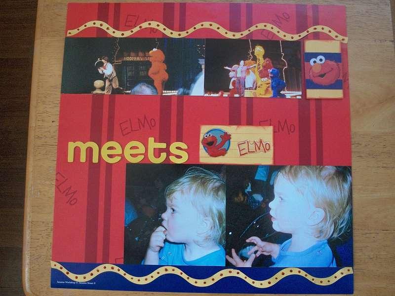 Megan Meets Elmo - r side