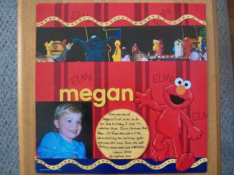 Megan Meets Elmo - l side