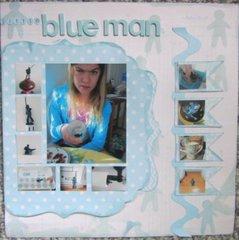 Little Blue Man