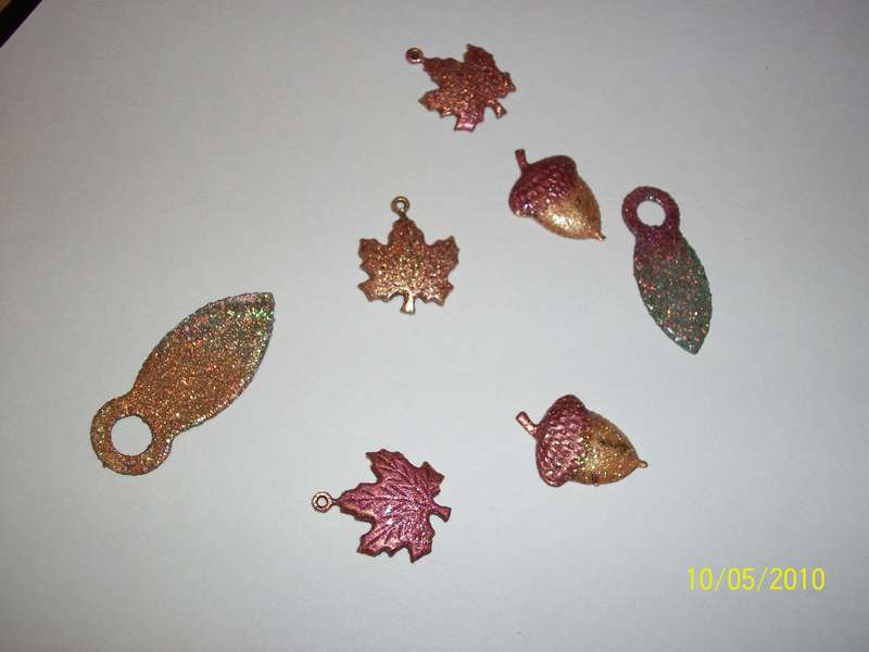 Altered metal charms
