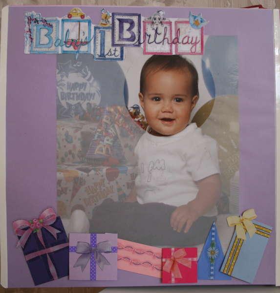1st Birthday #1