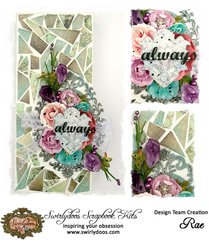 ~Swirlydoos Kit Club~ Always Mosaic Canvas