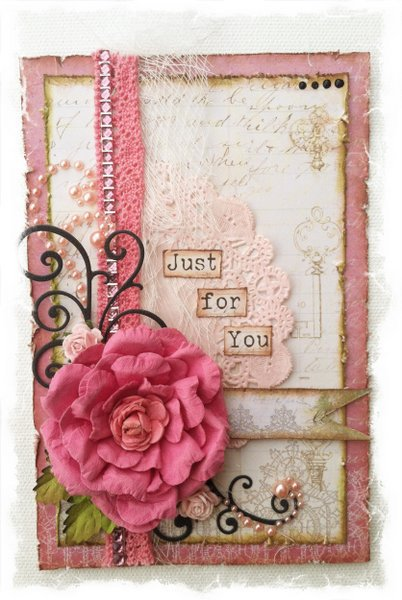 """""""Just for You"""" card ~Swirlydoos Kit Club~"""