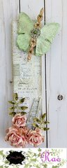 Butterfly Canvas for Tres Jolie Kit Club
