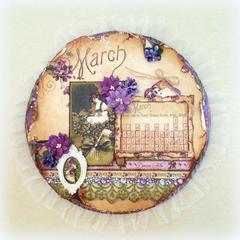 March Calendar Page