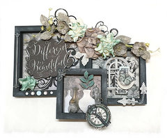 """""""Different is Beautiful"""" Wall Decor"""