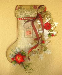 Christmas Stocking Wall Hanging