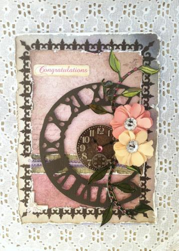"""""""Congratulations"""" ~FLOURISH WITH A BLING~"""