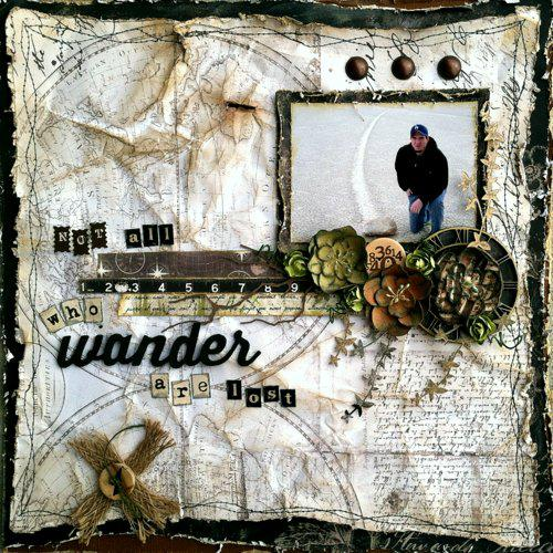 """""""Not All who Wander are Lost"""" ~Swirlydoos Kit Club~"""