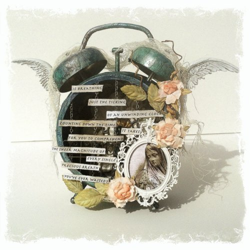 Altered Clock *SWIRLYDOOS KIT CLUB*