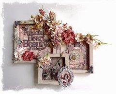 """Peaceful Heart"" Wall Decor"