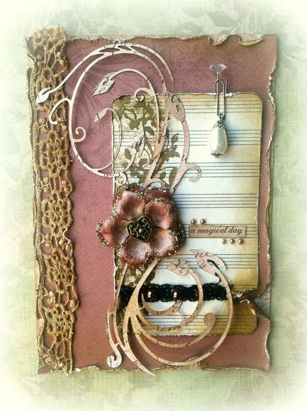 """""""A Magical Day"""" Card ~SWIRLYDOOS KIT CLUB~"""