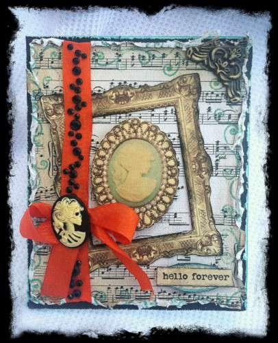 Hello Forever Card **SWIRLYDOOS KIT CLUB**