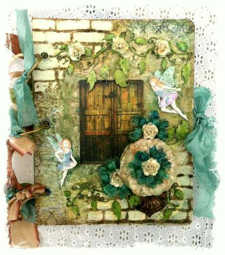 Fairy Mixed Media Album **SWIRLYDOOS KIT CLUB**