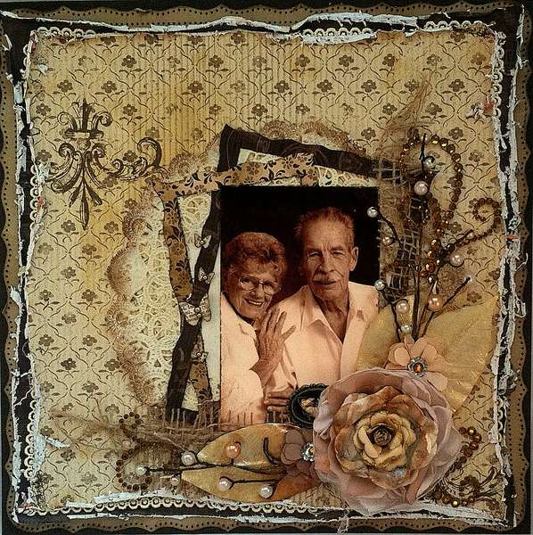 Untitled (Grandparents) ~FLOURISH WITH A BLING~