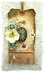 Clock Tag **SWIRLYDOOS KIT CLUB**