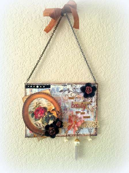 """Find Beauty in All Things"" Canvas ~SWIRLYDOOS KIT CLUB~"