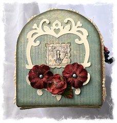 ~Die~Namites Dies~ Valentine's Mailbox Card Holder