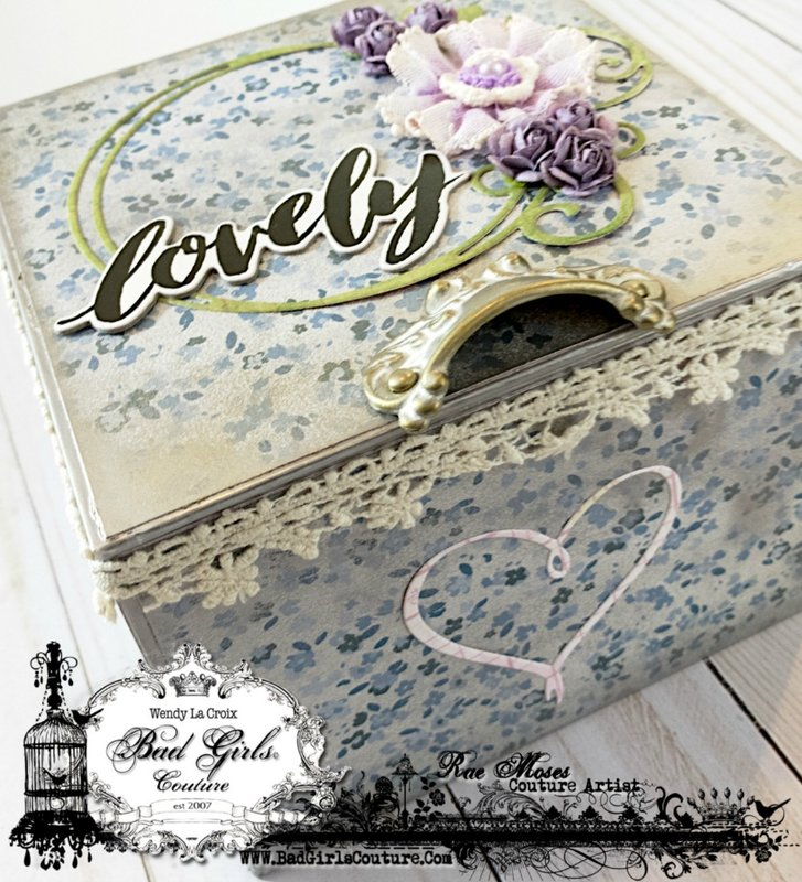 Lovely- An Altered Box