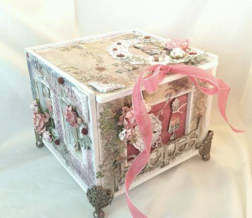 Organic Recipe Box ~SWIRLYDOOS KIT CLUB~